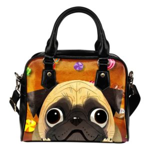 candy pug purse